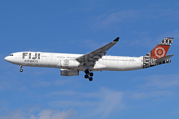 Fiji's first Airbus A330-300, delivered December 23, 2015