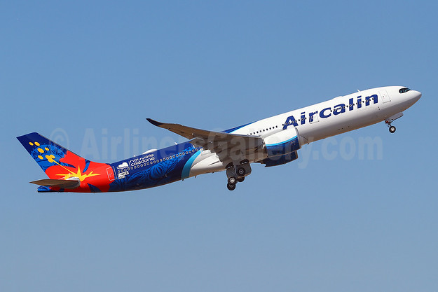 First flight of Aircalin's first Airbus A330neo