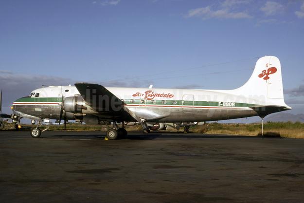 Air Polynésie Douglas C-54A-15-DC (DC-4) F-BBDR (msn 10417) PPT (Bruce Drum Collection). Image: 954814.