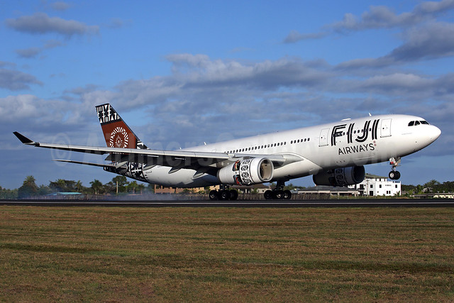 Fiji Airways (2nd) Airbus A330-243 DQ-FJT (msn 1394) NAN (Rob Finlayson). Image: 934631.