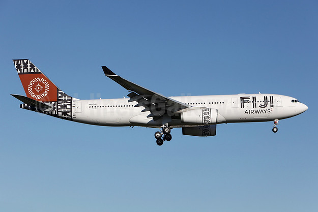 Fiji Airways (2nd) Airbus A330-243 DQ-FJU (msn 1416) SYD (John Adlard). Image: 912540.