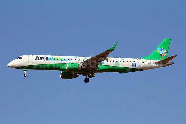 Azul Linhas Aereas Brasileiras Embraer ERJ 190-200 IGW (ERJ 195) PR-AYX (msn 19000471) (Azul e Verde) VCP (Marcelo F. De Biasi). Image: 908078.