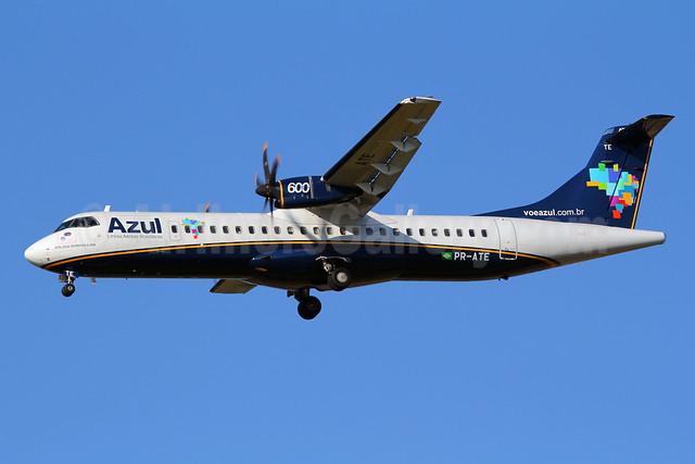 Azul Linhas Aereas Brasileiras ATR 72-212A (ATR 72-600) PR-ATE (msn 972) VCP (Marcelo F. De Biasi). Image: 908076.