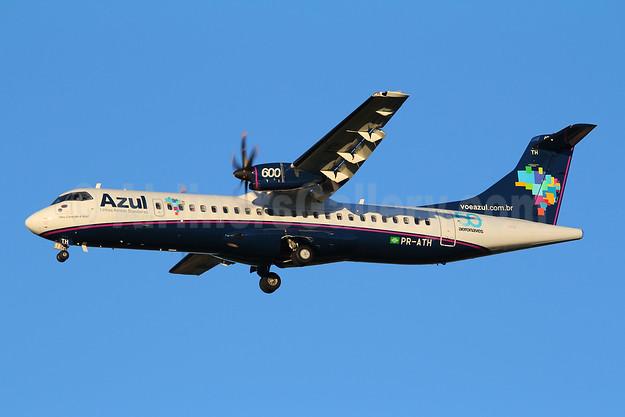Azul Linhas Aereas Brasileiras ATR 72-212A (ATR 72-600) PR-ATH (msn 991) VCP (Marcelo F. De Biasi). Image: 908285.