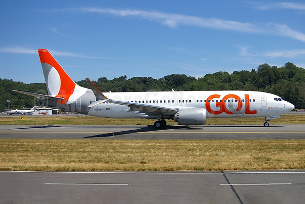Gol's first Boeing 737-8 MAX 8