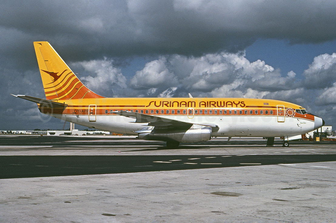 Airline Color Scheme - Introduced 1975
