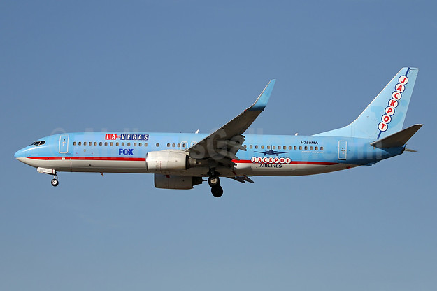 """Promotional livery for the new Fox """"LA to Vegas"""" TV series"""