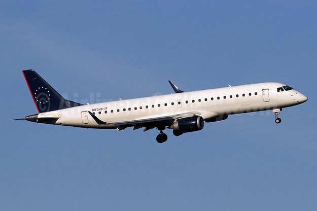 Republic Airlines (2nd) Embraer ERJ 190-100 IGW N173HQ (msn 19000206) DCA (Brian McDonough). Image: 909600.