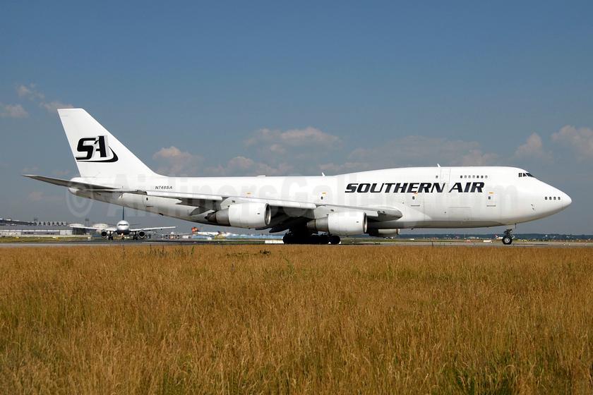 Southern Air (2nd) Boeing 747-206B (F) N748SA (msn 21110) FRA (Ton Jochems). Image: 953070.