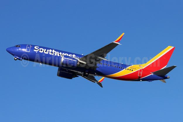 Southwest Airlines Boeing 737-8 MAX 8 N8809L (msn 65439) BUR (Michael B. Ing). Image: 955033.