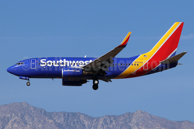Southwest Airlines Boeing 737-79P WL N7832A (msn 30657) ONT (Michael B. Ing). Image: 944275.