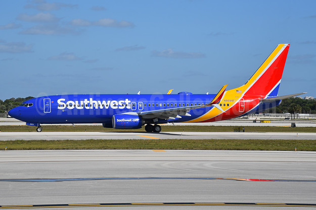 Southwest Airlines  Boeing 737-8H4 SSWL N8684F (msn 36653) FLL (Bruce Drum). Image: 104504.
