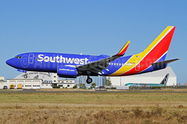 Southwest airlines is coming to paine field in everett wa world southwest airlines boeing 737 71b wl n7845a msn 29366 pae nick dean malvernweather Image collections