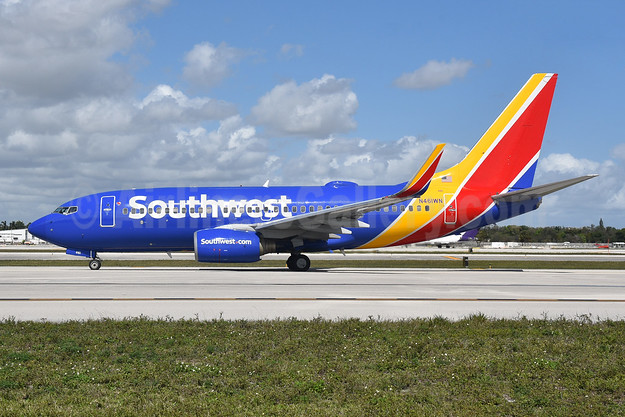 Southwest Airlines Boeing 737-7H4 WL N461WN (msn 32465) FLL (Bruce Drum). Image: 105014.