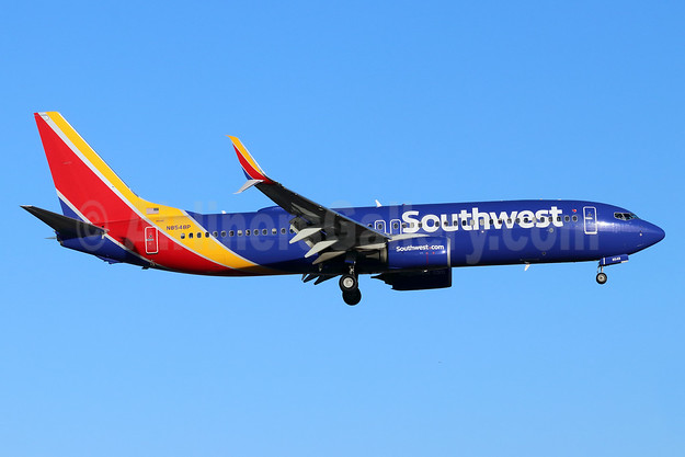 Southwest Airlines  Boeing 737-800 SSWL N8548P (msn 36968) SNA (Michael B. Ing). Image: 946294.