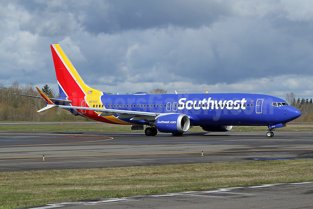 Southwest Airlines Boeing 737-8 MAX 8 N8701Q (msn 42554) PAE (Nick Dean). Image: 953439.