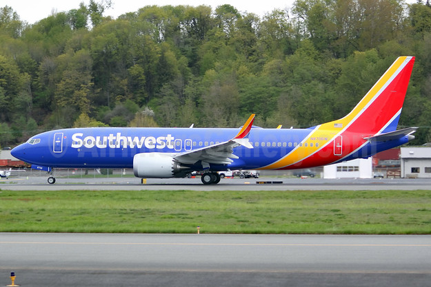 The new MAX 8 for Southwest Airlines