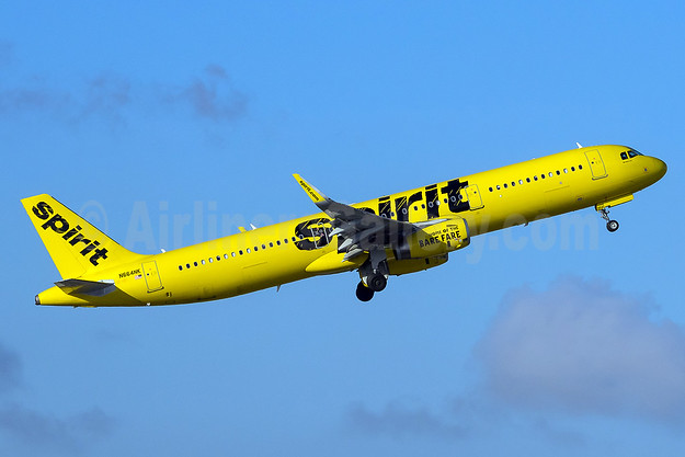 Spirit Airlines Airbus A321-231 WL N664NK  (msn 7021) FLL (Andy Cripps). Image: 936347.