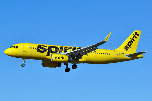 Spirit Airlines Airbus A320-232 WL N646NK (msn 7062) BWI (Tony Storck). Image: 933496.
