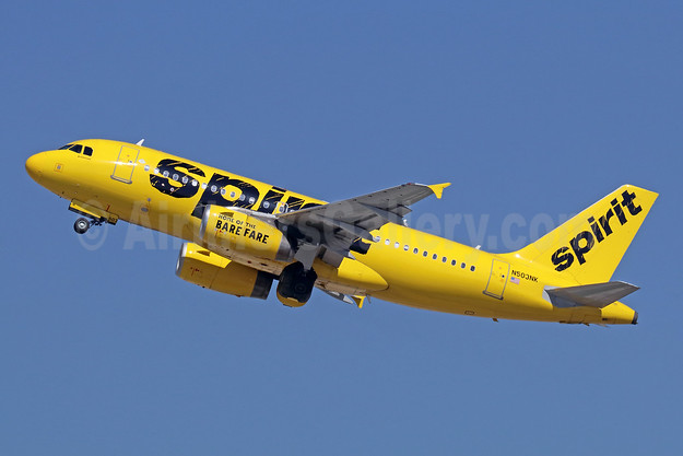 Spirit Airlines Airbus A319-132 N503NK (msn 2470) LAX (Michael B. Ing). Image: 941698.