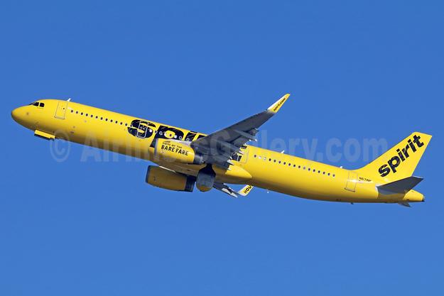 Spirit Airlines Airbus A321-231 WL N671NK  (msn 7246) LAX (Michael B. Ing). Image: 936852.