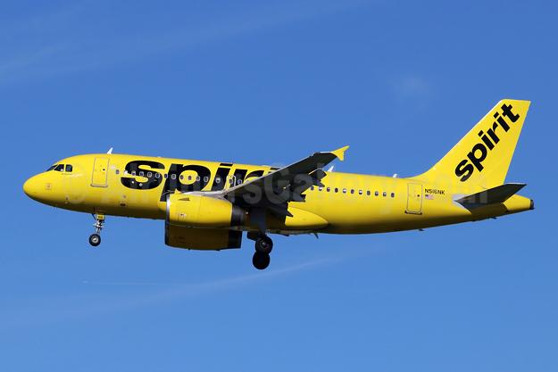 Spirit Airlines Airbus A319-132 N516NK (msn 2704) LAX (Michael B. Ing). Image: 945346.