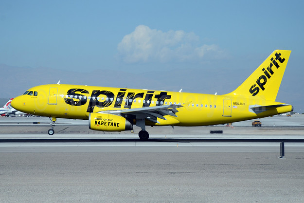 Spirit Airlines Airbus A319-132 N503NK (msn 2470) LAS (TMK Photography). Image: 925224.