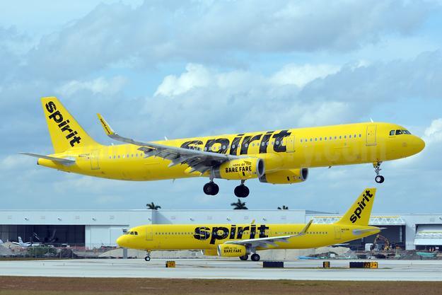 Spirit Airlines Airbus A321-231 WL N660NK  (msn 6804) FLL (Jay Selman). Image: 403764.