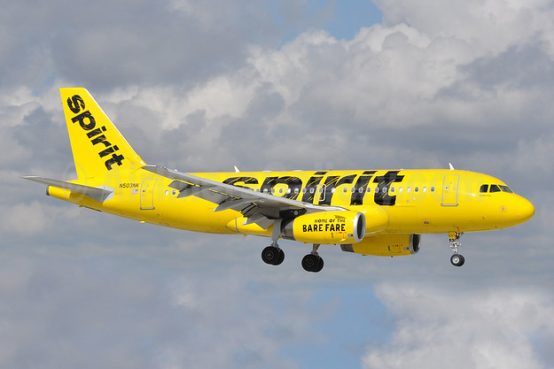 Spirit Airlines Airbus A319-132 N503NK (msn 2470) FLL (Tony Storck). Image: 925661.