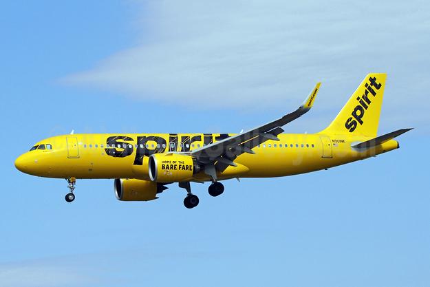 Spirit Airlines Airbus A320-271N WL N901NK (msn 6833) BWI (Brian McDonough). Image: 941696.