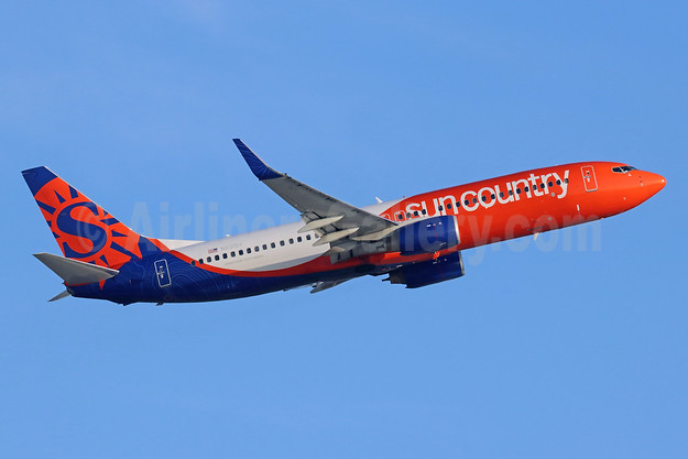 Sun Country Airlines Boeing 737-83N WL N831SY (msn 28249) LAX (Michael B. Ing). Image: 946714.