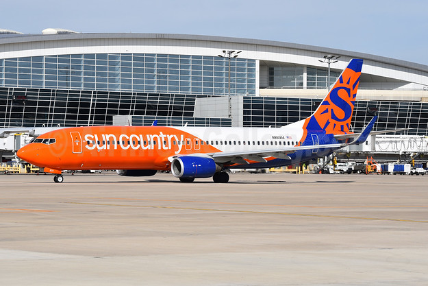 Sun Country Airlines Boeing 737-83N WL N861AM (msn 30706) DFW (Brian Peters). Image: 945805.