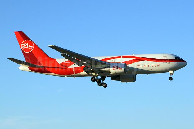 21Air (21-air.com) (Dynamic Airways) Boeing 767-241F ER N999YV (msn 23801) MIA (Brian McDonough). Image: 925804.
