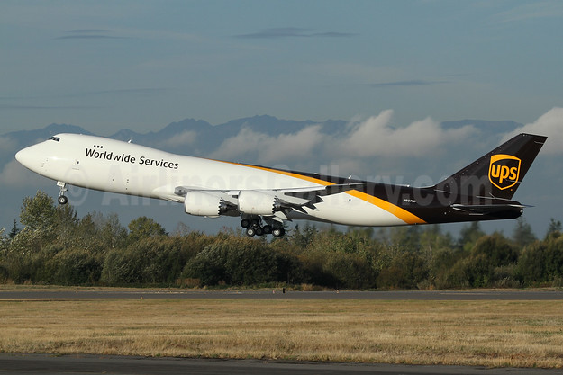 The new Boeing 747-8F Intercontinental Freighter