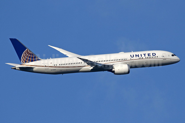 United Airlines Boeing 787-9 Dreamliner N15969 (msn 60142 LHR (SPA). Image: 937370.