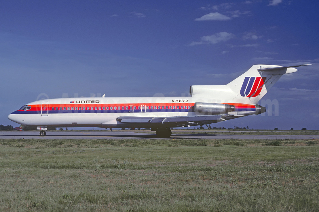 United Airlines Boeing 727-22 N7020U (msn 18312) OKC (Christian Volpati Collection). Image: 911753.