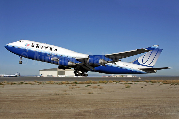 United Airlines Boeing 747-422 N179UA (msn 25158) SFO (Mark Durbin). Image: 901763.