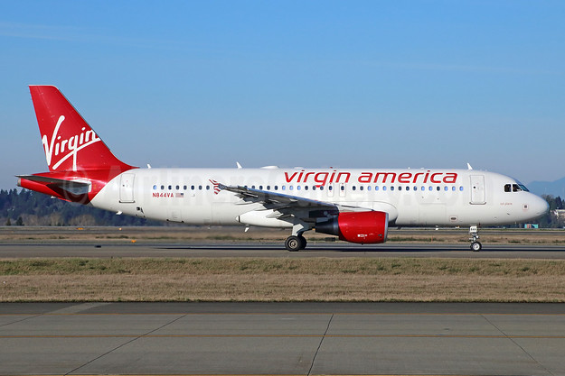 Virgin America Airbus A320-214 N844VA (msn 4851) SEA (Michael B. Ing). Image: 928791.
