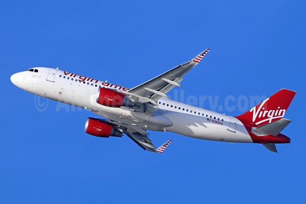 Virgin America Airbus A320-214 WL N365VA (msn 7207) LAX (Michael B. Ing). Image: 936380.