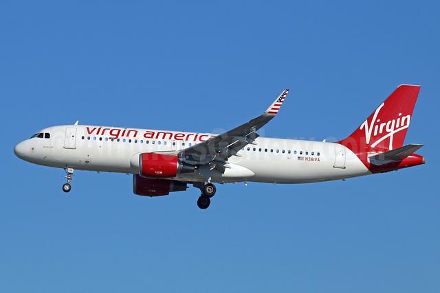 Virgin America Airbus A320-214 WL N361VA (msn 5515) (Sharklets) LAX (Michael B. Ing). Image: 924877.