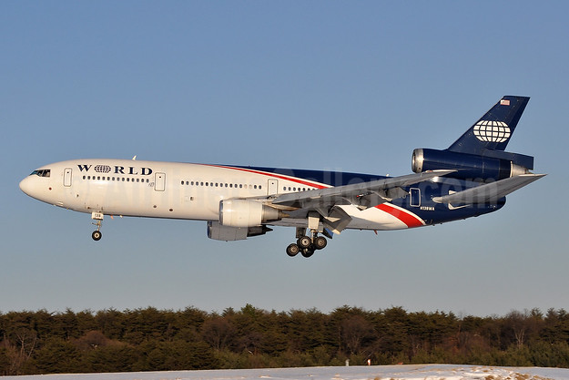 World Airways McDonnell Douglas DC-10-30 N138WA (msn 47845) BWI (Tony Storck). Image: 904552.