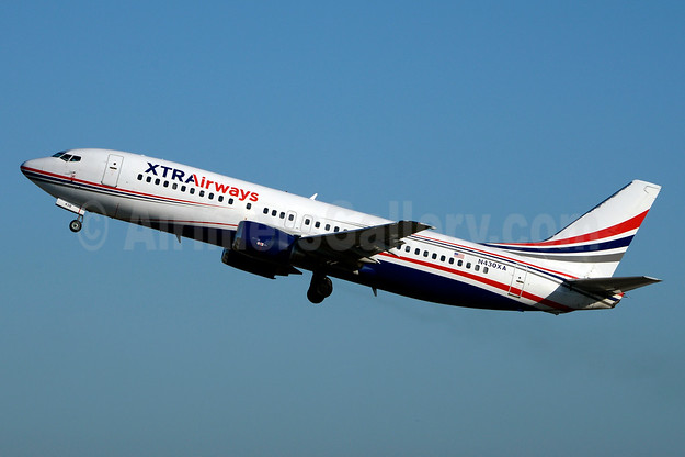 XTRAirways (Xtra Airways) Boeing 737-484 N430XA (msn 25430) MIA (Jay Selman). Image: 403409.