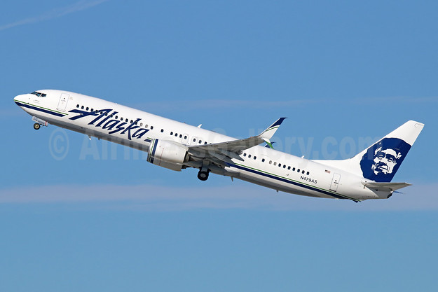 Alaska Airlines Boeing 737-990 ER SSWL N479AS (msn 60576) LAX (Michael B. Ing). Image: 930276.