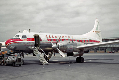 Napier-powered Convair 540, 5 operated, 1959 - 1963