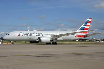 American Airlines Boeing 787-8 Dreamliner N808AN (msn 40626) LHR. Image: 929564.