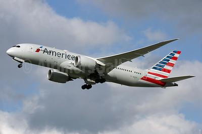 American Airlines Boeing 787-8 Dreamliner N801AC (msn 40619) LHR (Antony J. Best). Image: 929511.