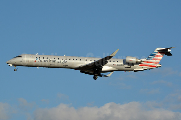 American Eagle (2nd)-PSA Airlines (2nd) Bombardier CRJ900 (CL-600-2D24) N576NN (msn 15367) CLT (Jay Selman). Image: 403064.