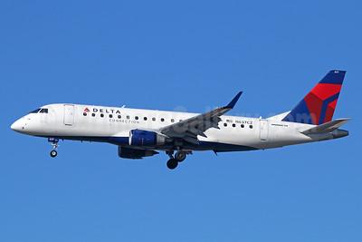 Delta Connection-Compass Airlines Embraer ERJ 170-200LR (ERJ 175) N637CZ (msn 17000256) LAX (Michael B. Ing). Image: 929529.