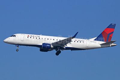 Delta Connection-Compass Airlines Embraer ERJ 170-200LR (ERJ 175) N624CZ (msn 17000222) LAX (Michael B. Ing). Image: 929525.