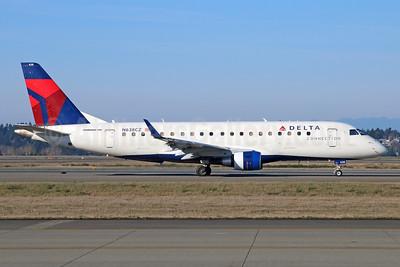 Delta Connection-Compass Airlines Embraer ERJ 170-200LR (ERJ 175) N638CZ (msn 17000259) SEA (Michael B. Ing). Image: 929530.